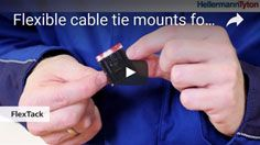 FlexTack: Cable Tie Mounts with high performance